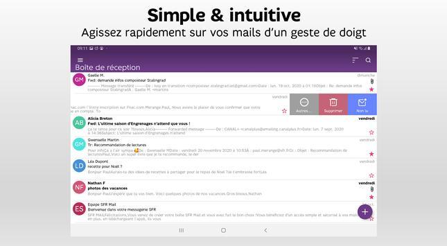 SFR Mail capture d'écran 7