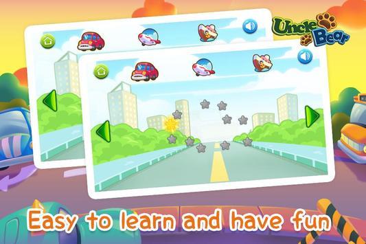 Line Game for Kids: Vehicles screenshot 2