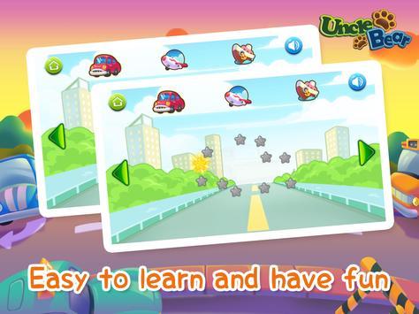 Line Game for Kids: Vehicles screenshot 7