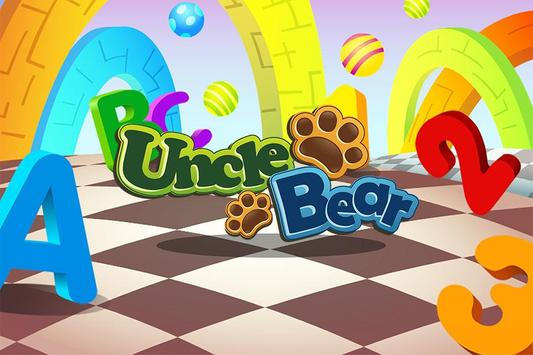 Line Game for Kids: ABC/123 poster