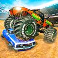 Extreme Monster Truck Crash Derby Stunts