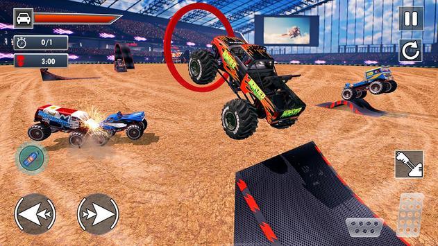 Extreme Monster Truck Crash Derby Stunts screenshot 8