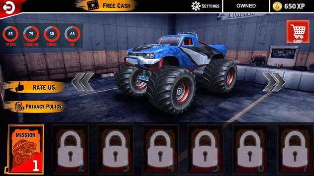 Extreme Monster Truck Crash Derby Stunts screenshot 9