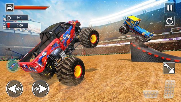 Extreme Monster Truck Crash Derby Stunts screenshot 1