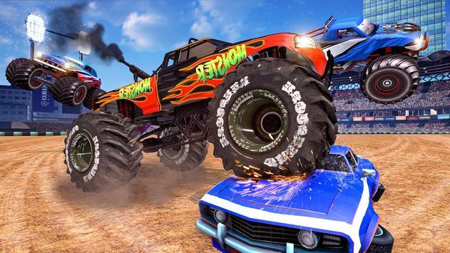 Extreme Monster Truck Crash Derby Stunts screenshot 2