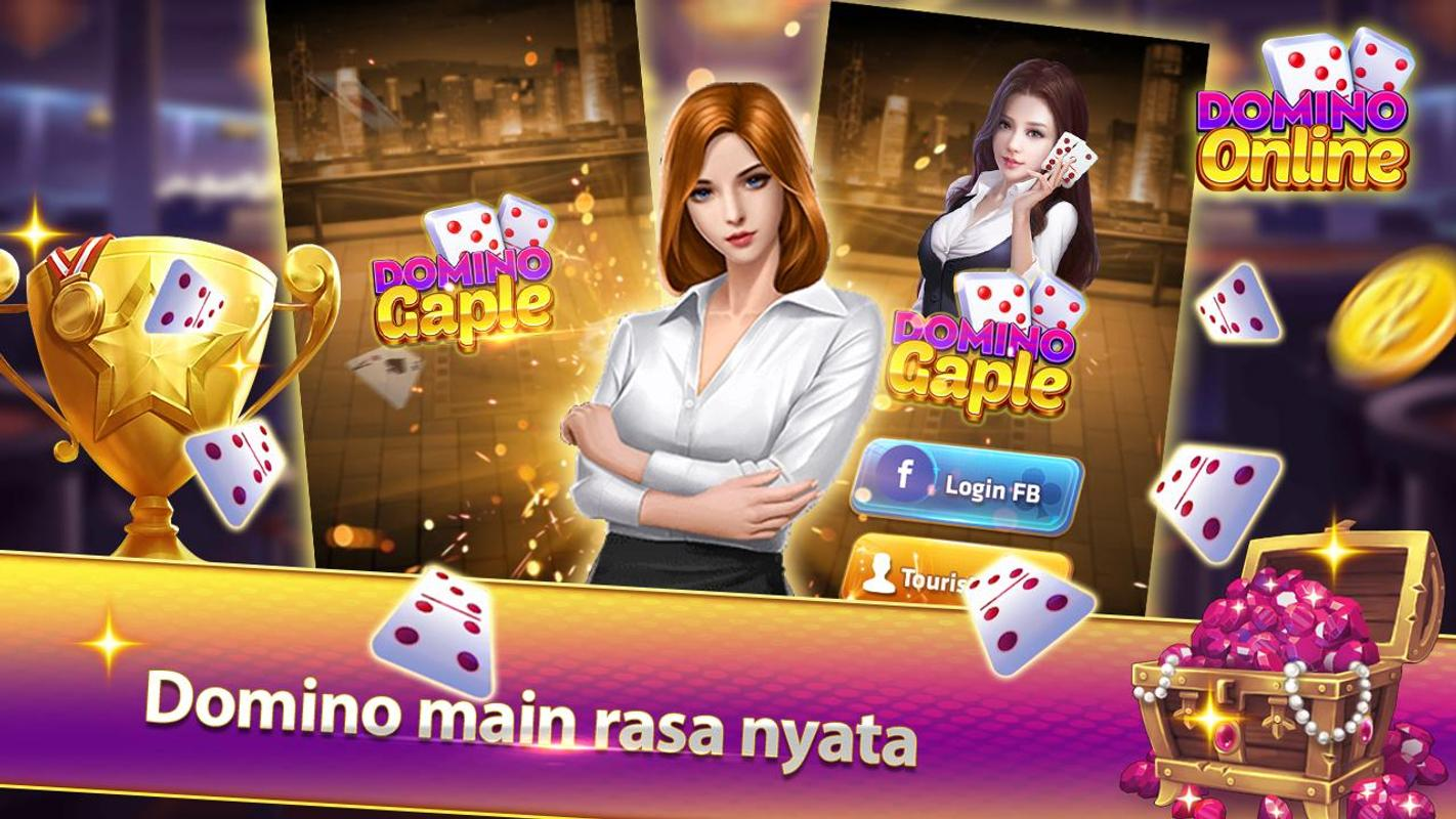 Download permainan yang baru Domino Gaple Online - Gaple Indonesia v1.0.1