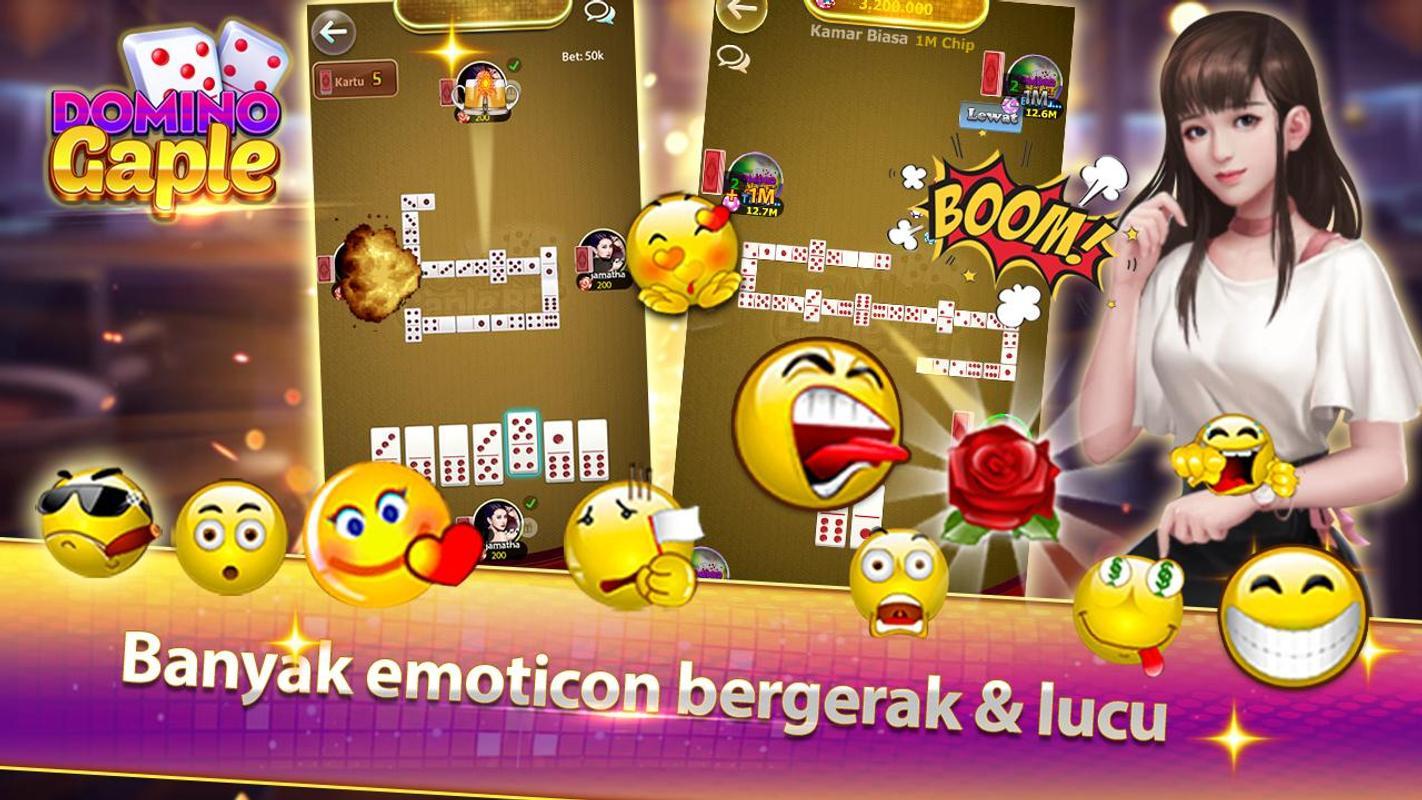 Games terbaru gratis Domino Gaple Online - Gaple Indonesia v1.0.1