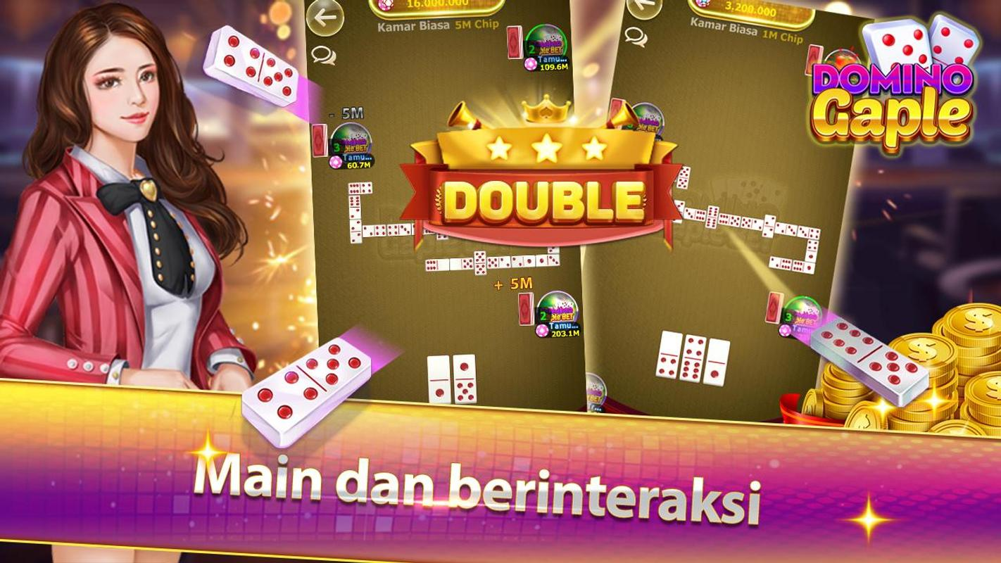 Gratis permainan Domino Gaple Online - Gaple Indonesia v1.0.1