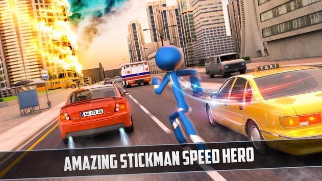 Rope Hero 2021: Stickman Rope Hero City Crime screenshot 7