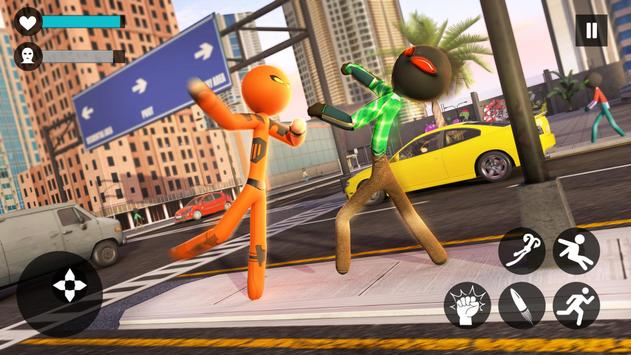 Rope Hero 2021: Stickman Rope Hero City Crime screenshot 8