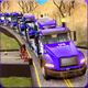 US Police Car Transporter Plane: Truck Sim Games APK image thumbnail