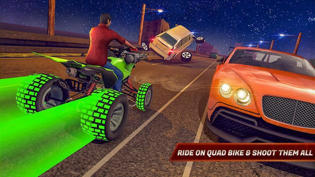 ATV Bike Quad Racing Shooter screenshot 10