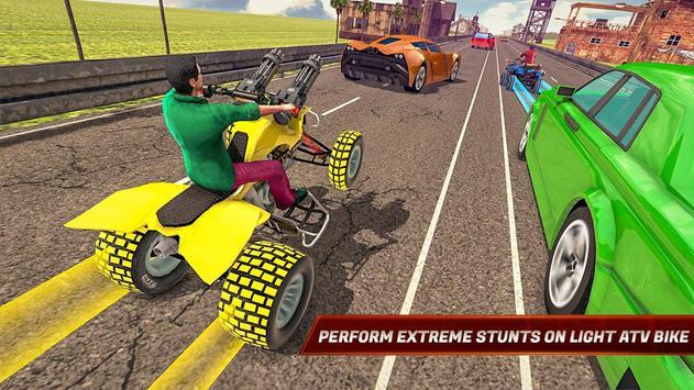 ATV Bike Quad Racing Shooter screenshot 8
