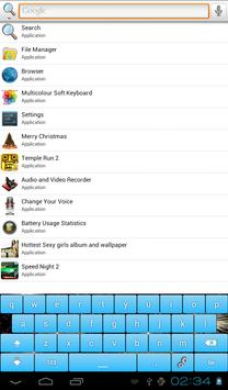 Multicolor Soft Keyboard Free screenshot 10