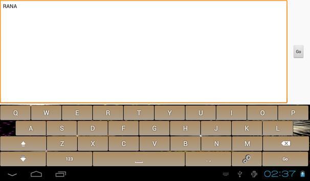 Multicolor Soft Keyboard Free screenshot 12