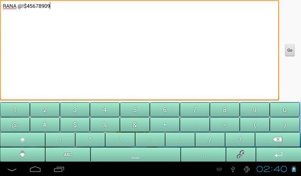 Multicolor Soft Keyboard Free screenshot 7