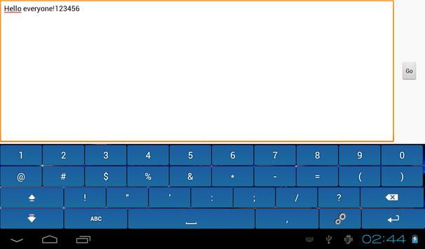 Multicolor Soft Keyboard Free screenshot 9