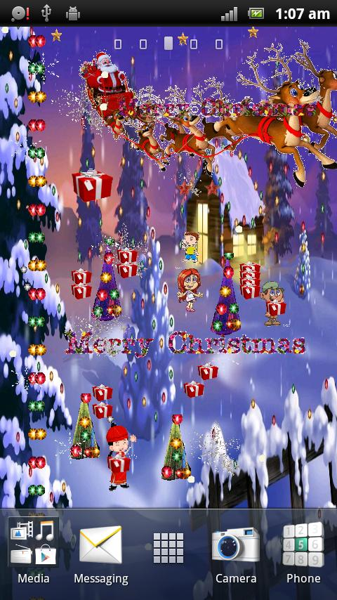 Merry Christmas Live Wallpaper For Android Apk Download