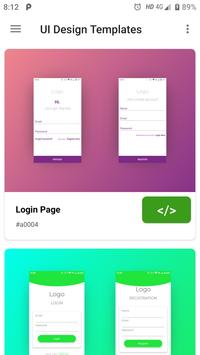 UI Design Templates with Source Code for Android - APK Download