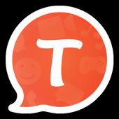 Icona Messenger video e chiam Tango