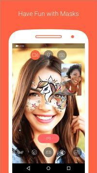 5 Schermata Messenger video e chiam Tango