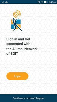 SGIT Alumni Association poster