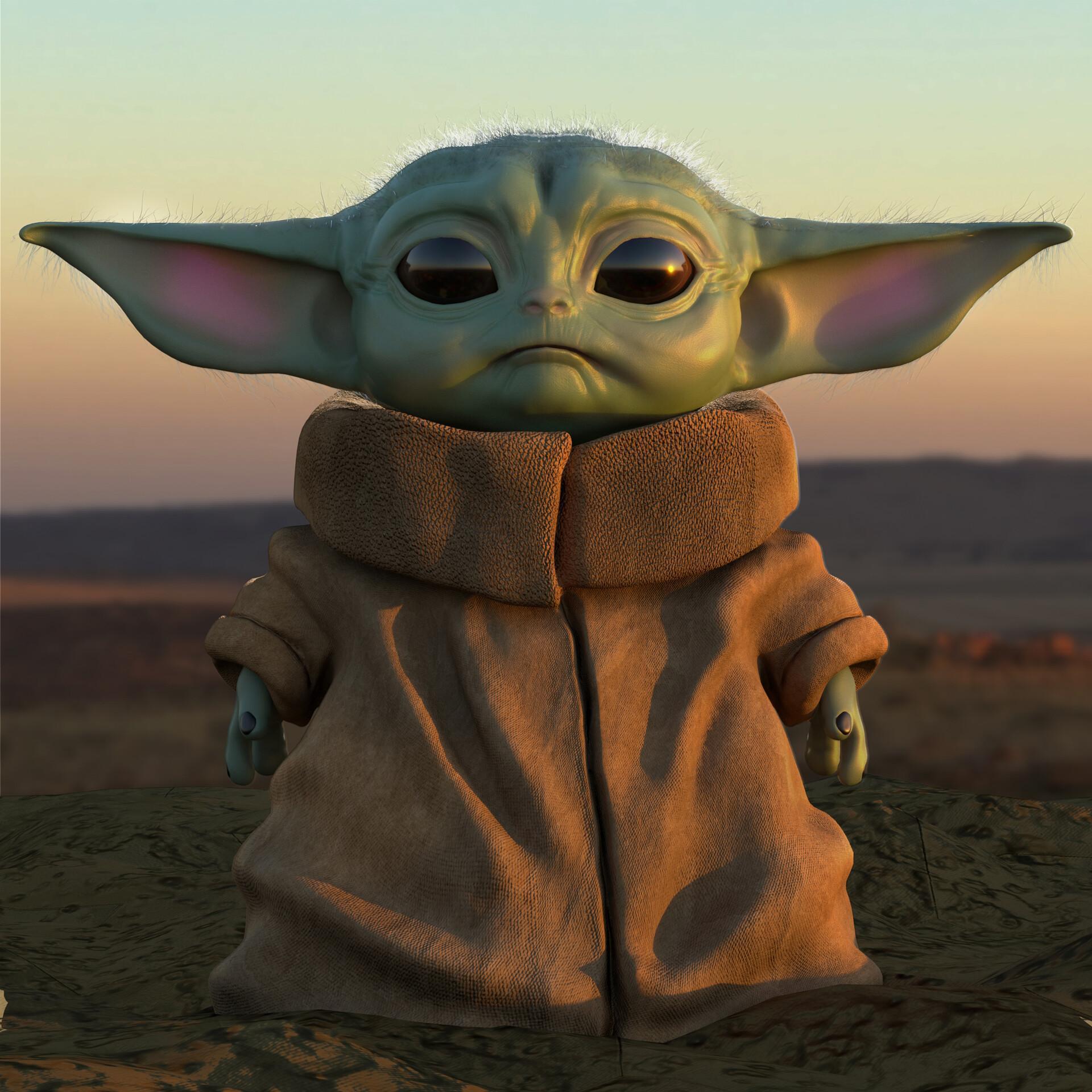 HD Baby Yoda Wallpaper & Mandalorian Wallpaper Für Android