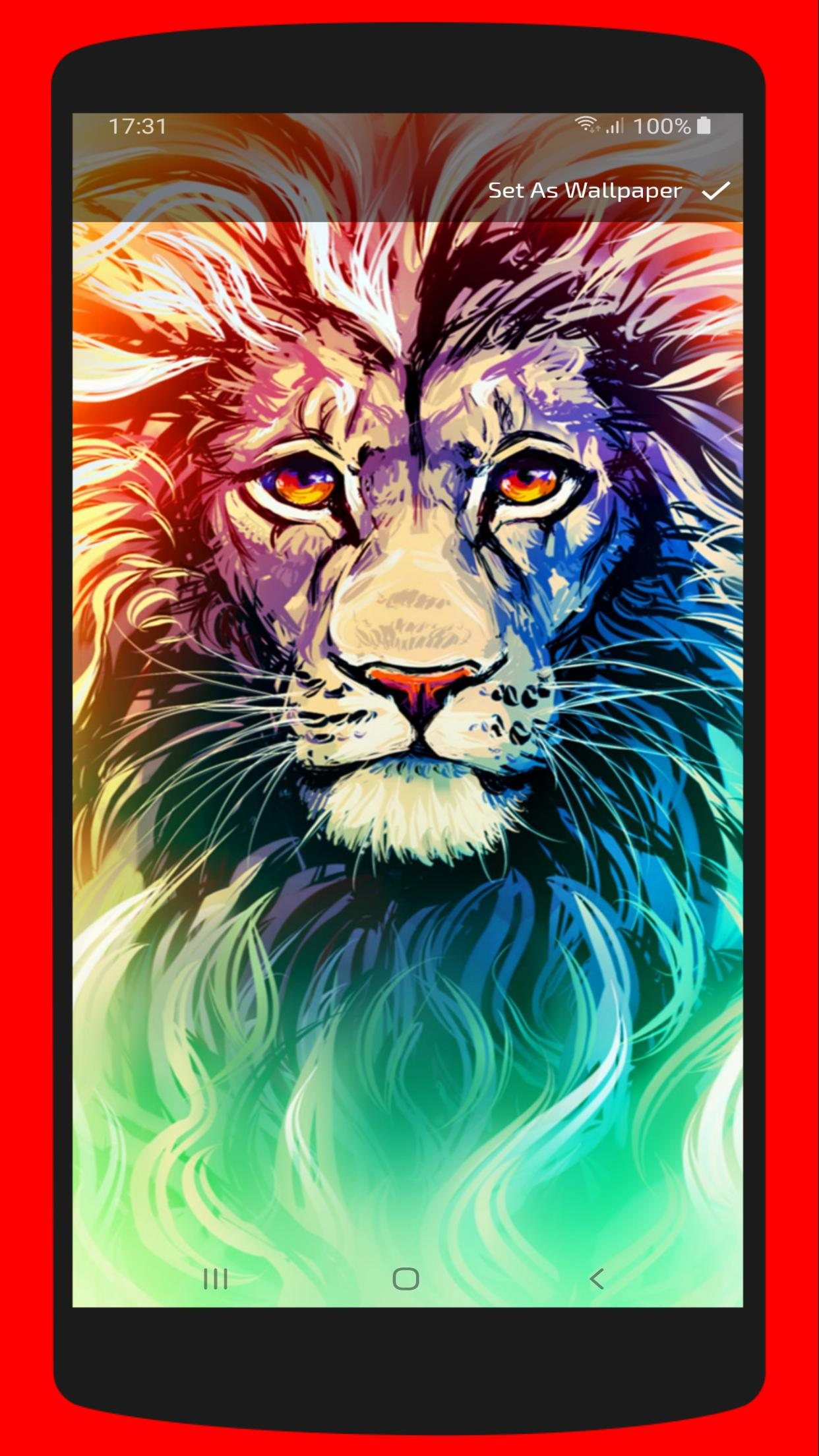 Cool Lion Wallpaper Free Hd 4k Backgrounds For Android Apk Download