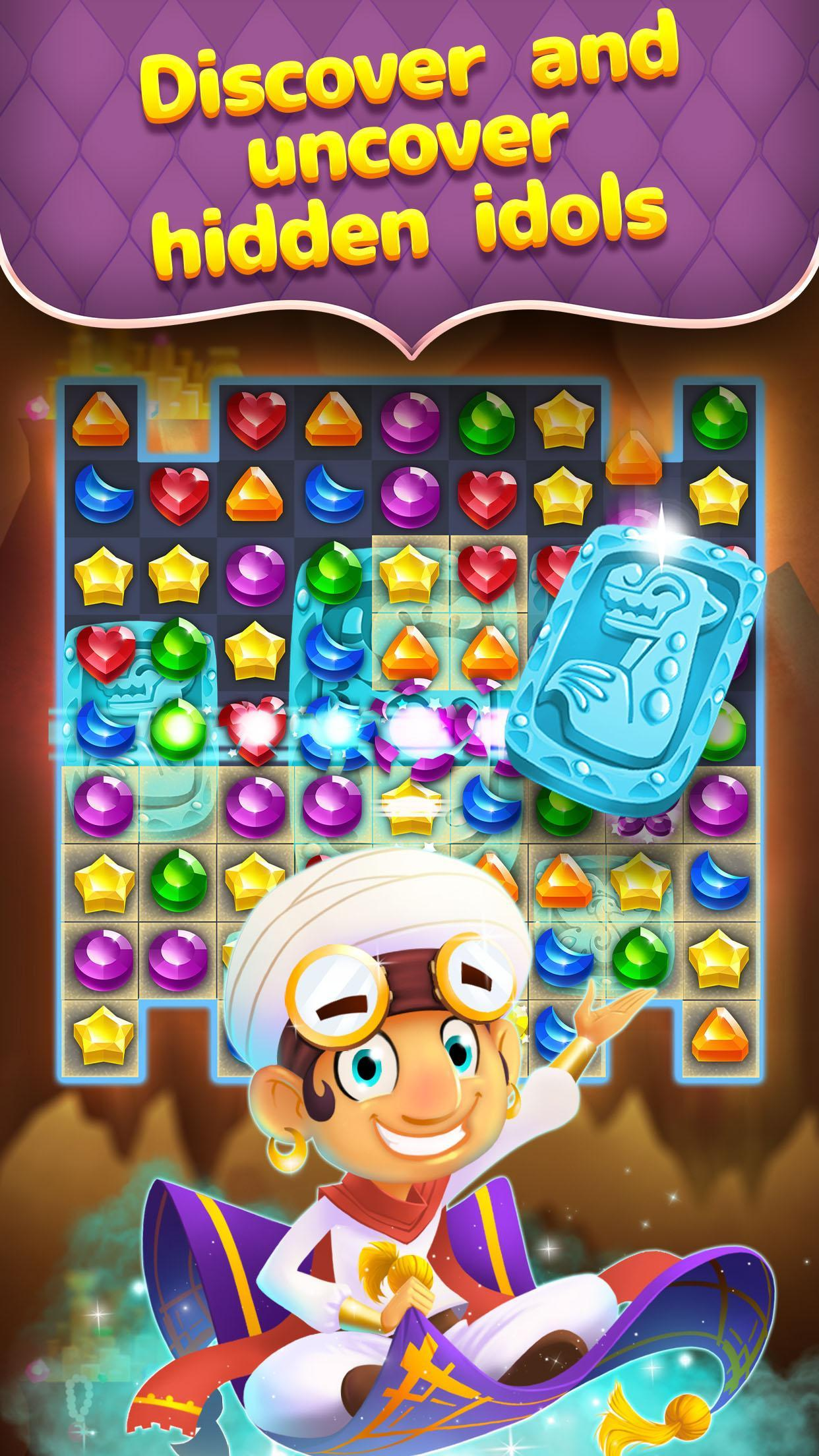Genies and gems game