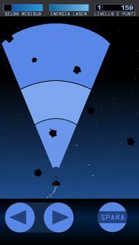 Pioggia di Asteroidi poster