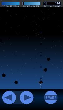 Pioggia di Asteroidi screenshot 1