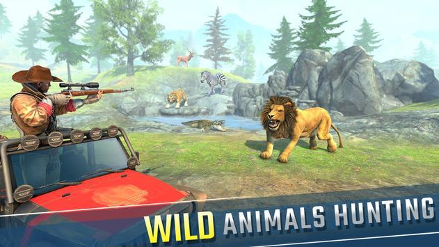 Wild Animal Hunting 2021: Best Shooting Games FPS screenshot 1