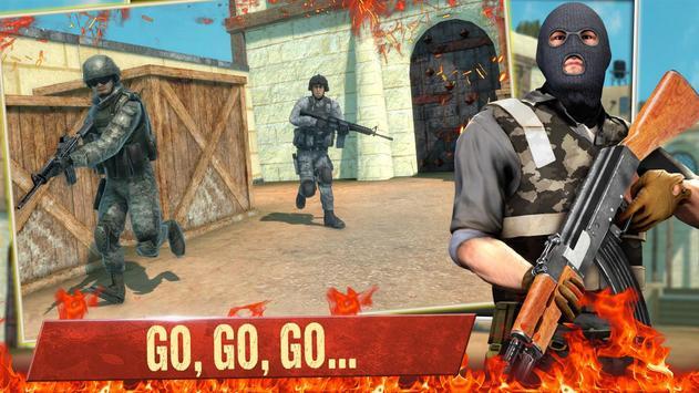 Jogos de tiro offline grátis FPS Jogos de tiro 3d Cartaz