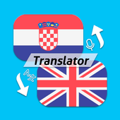 Croatian-English Voice and Text Translator HR-EN icon