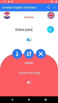 Croatian-English Voice and Text Translator HR-EN screenshot 3