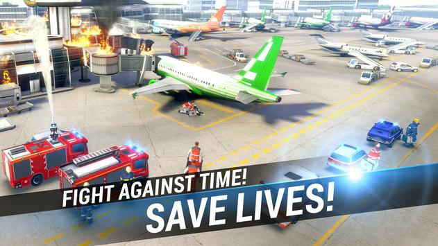 EMERGENCY HQ - free rescue strategy game poster