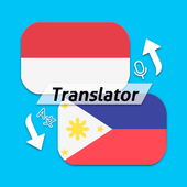 Indonesian Filipino Free Translator icon