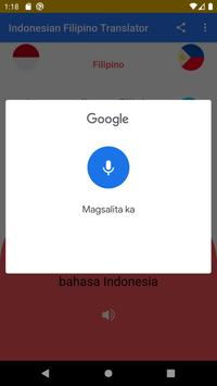 Indonesian Filipino Free Translator screenshot 5