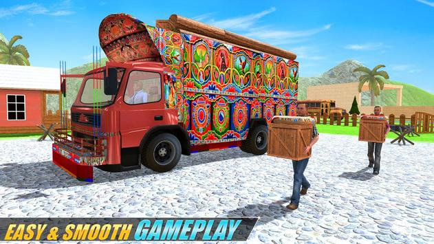 Indian Real Cargo Truck Driver screenshot 14