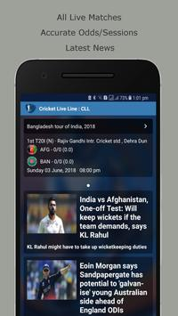 Cricket Live Line : CLL poster