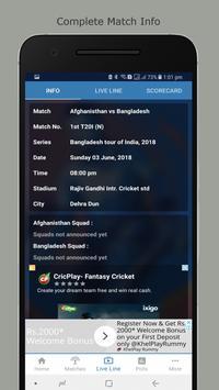 Cricket Live Line : CLL screenshot 2