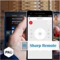 Remote control for sharp