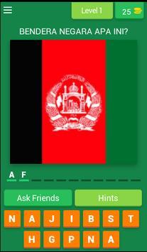 Teka Bendera Negara poster