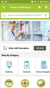 Shanti e Pharmacy poster