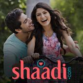 Shaadi.com® - No.1 Rated Matchmaking App icon