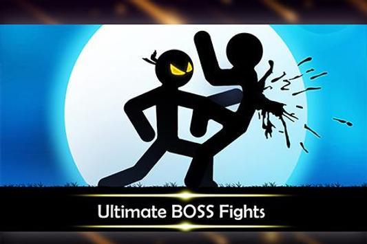 Stickman Shadow: Ninja Wild Warriors Fighting Game poster