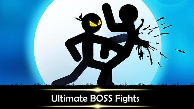 Stickman Shadow: Ninja Wild Warriors Fighting Game screenshot 5