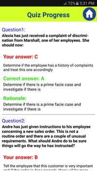 SPHR Human Resources Exam screenshot 13