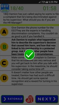 SPHR Human Resources Exam screenshot 2