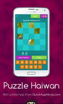 Puzzle Haiwan screenshot 7